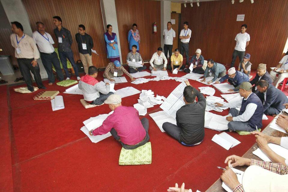 Vote count begins in Kathmandu Metropolis