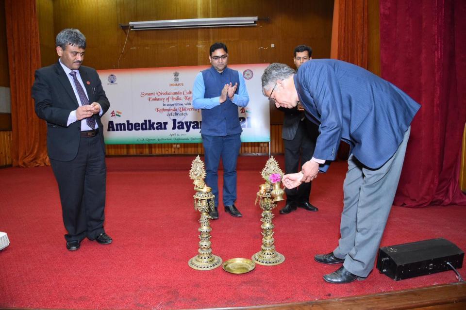 Discussion program organized to mark Ambedkar Jayanti in Kathmandu