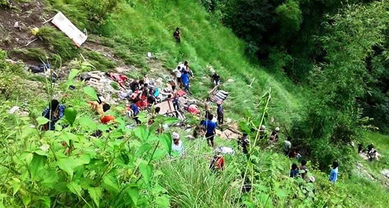 Death toll in Kavre bus accident reaches 32