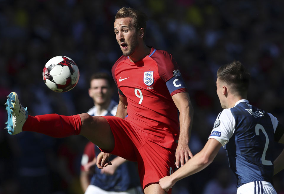 Kane rescues England as hat tricks light up Euro qualifiers