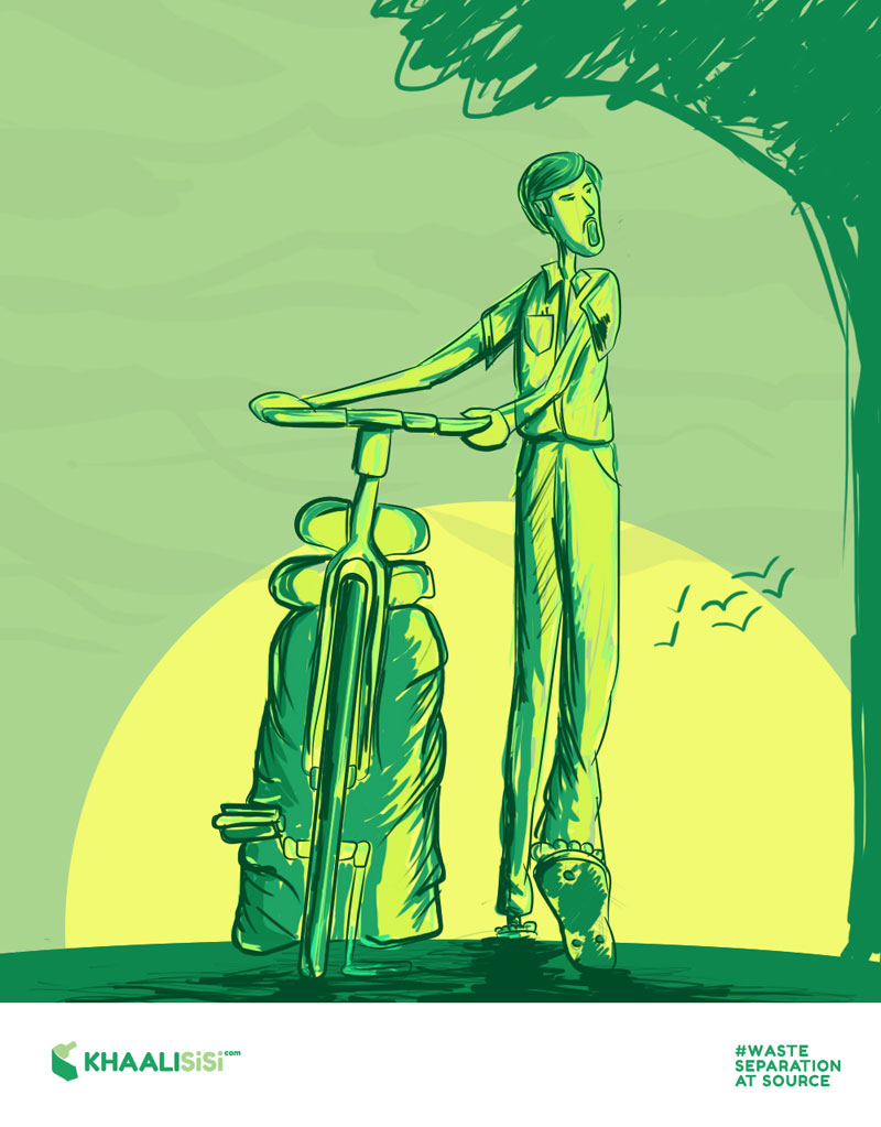 From bicycle to recycle: The Khalisisi men