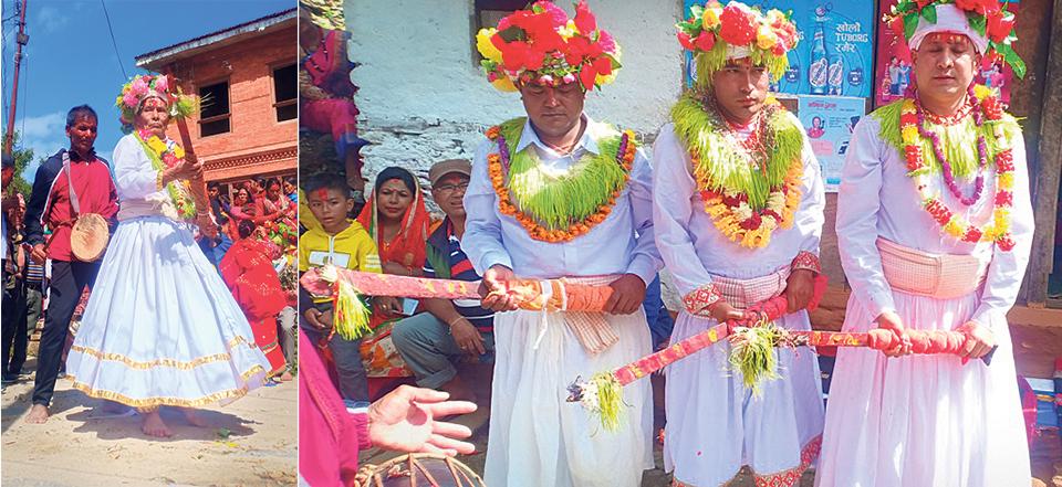 Khadgajatra celebrated amid dwindling crowd in Dolakha
