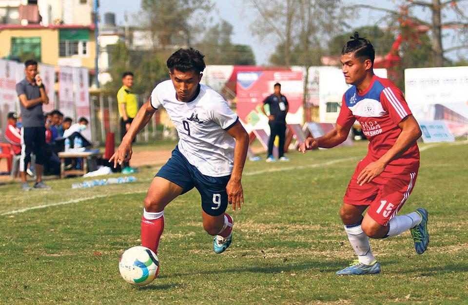 Chaudhary treble sends Nava Jagriti into quarters