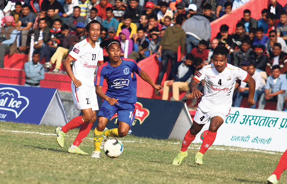 Thakuri brace sends Sudur Paschim into its first final