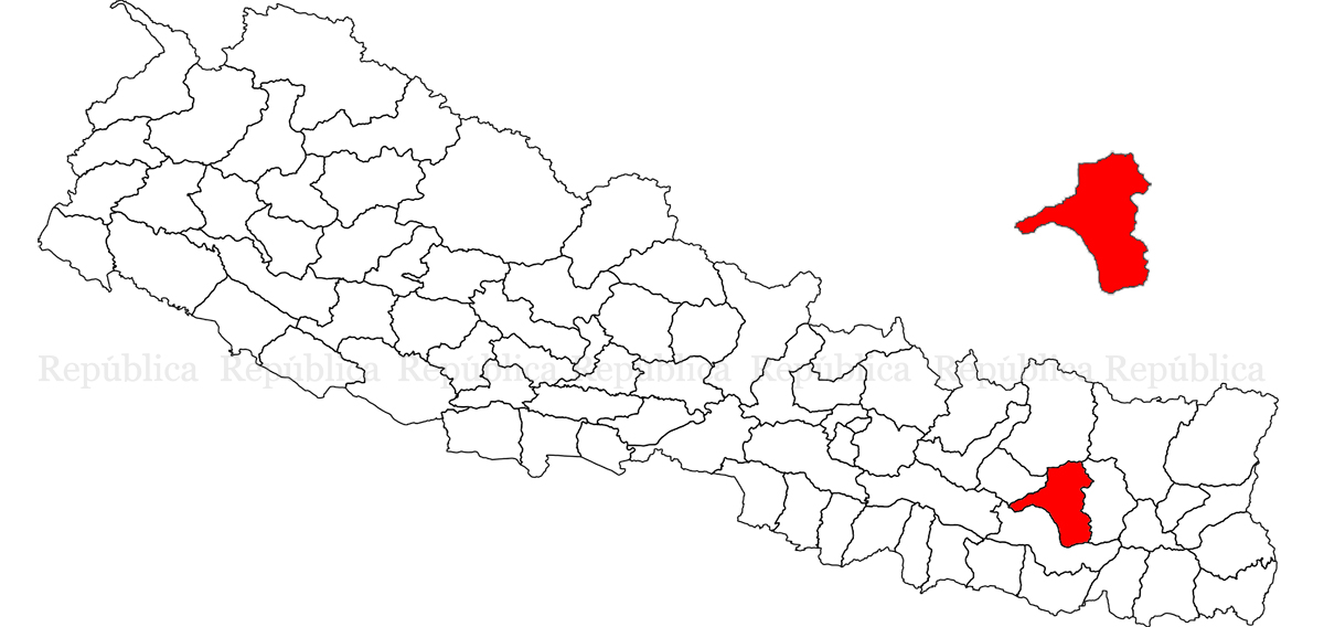 Two die after falling off trees in Khotang