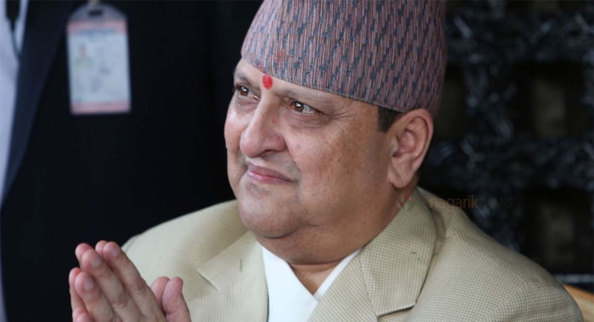 Former King Gyanendra not to offer Tika to public this Dashain