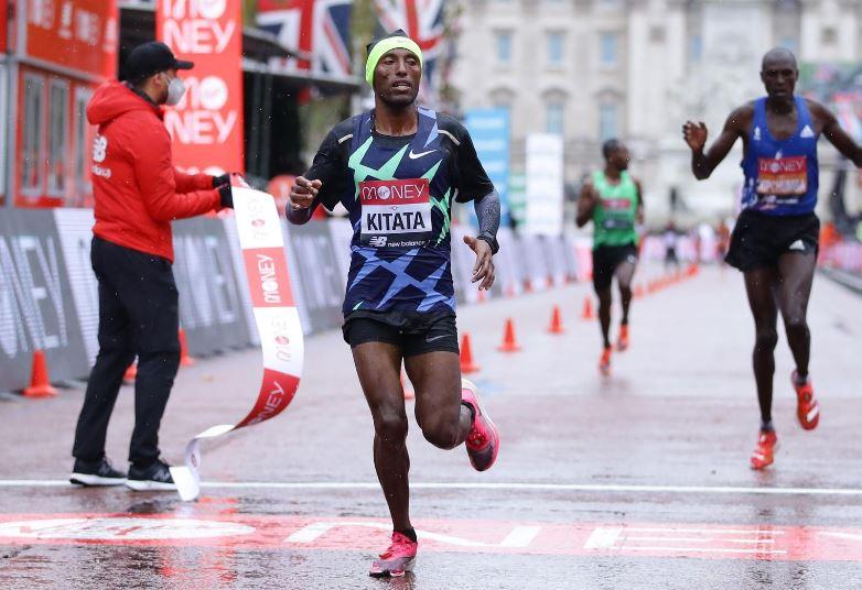 Ethiopia's Kitata sprints to London Marathon win as Kipchoge suffers rare defeat