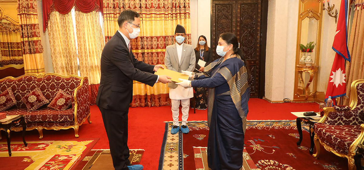 Newly-appointed Korean Ambassador Park vows to take Nepal-Korea relations to a new height