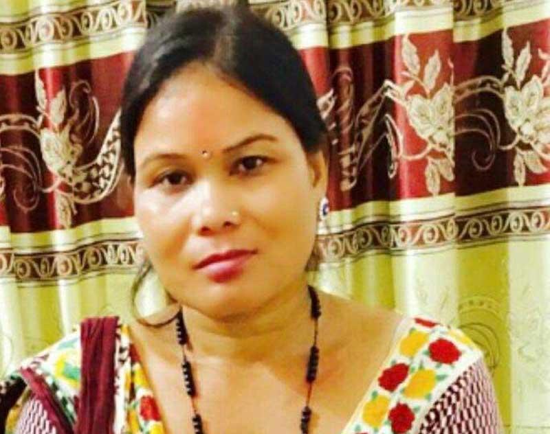 Krishni Tharu files nomination for Deputy Speaker