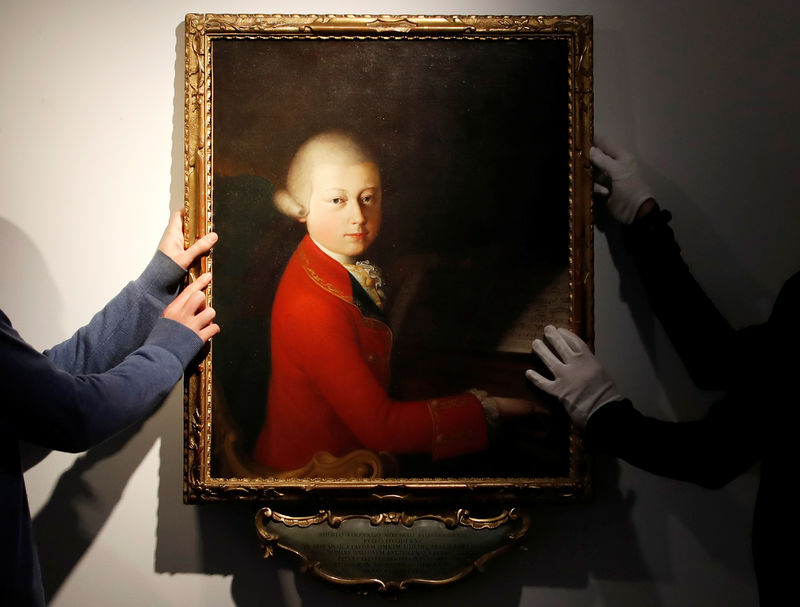 Rare portrait of teenage Mozart to be auctioned in Paris