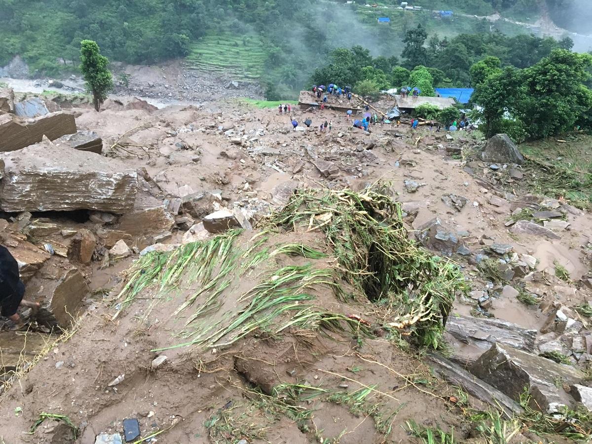 UPDATE: Death toll in Gumthang landslide hits 14, 17 still missing