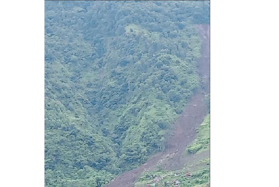 Rain-triggered landslides sweep away 21 houses in Lamjung