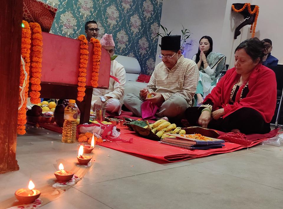 Nepal Republic Media celebrates Laxmi Puja (with photos)