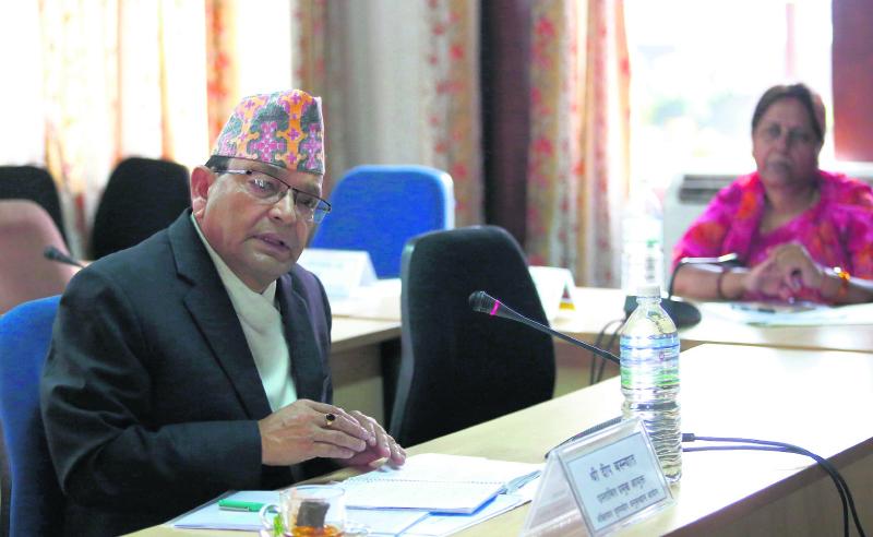 Hearings panel endorses Basnyat for CIAA chief