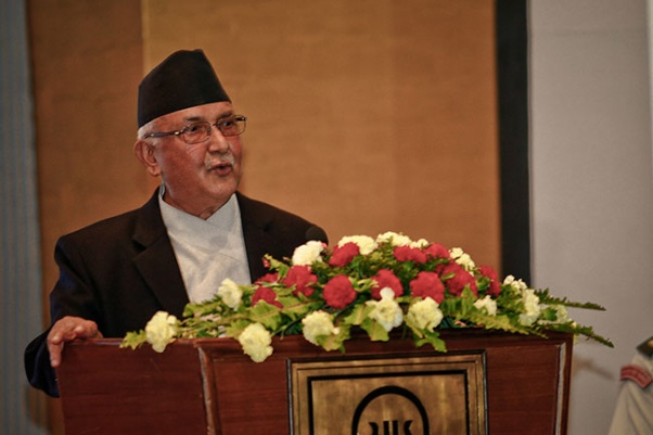 'New poems with expression of sociality and humanness': PM Oli