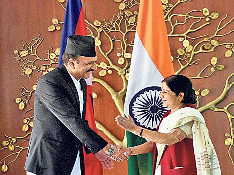 Mahat raises inundation, irrigation, new border points with Swaraj