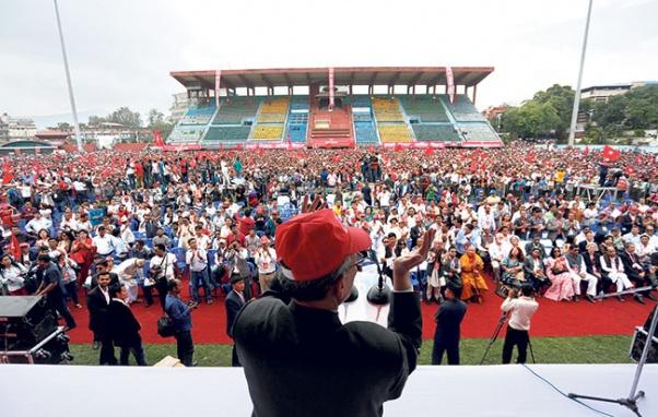 Naya Shakti Nepal launched with economic prosperity as singular focus