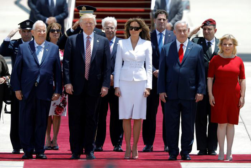 Trump, in Israel, says he has new reasons to hope for Middle East peace