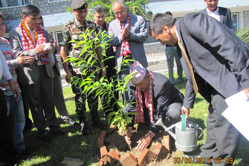 No alternative to coming together for constitution implementation: Minister Bhandari