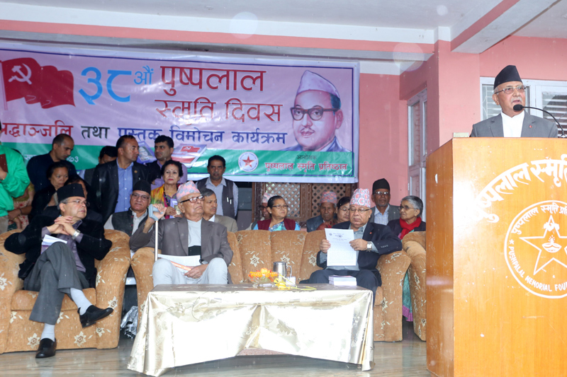 Govt change conspiracy against country: PM Oli