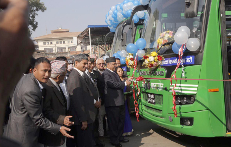 Govt working to end anarchy in transport system: PM Dahal