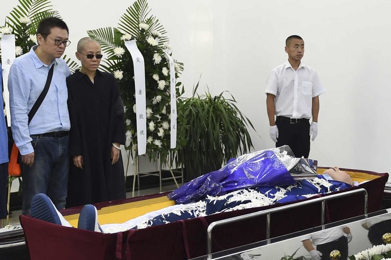 China cremates body of jailed Nobel laureate Liu Xiaobo