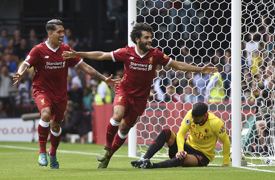 Liverpool concedes late goal, draws 3-3 at Watford in EPL