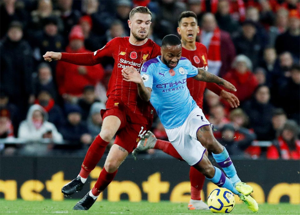 Liverpool go eight points clear with 3-1 victory over Man City