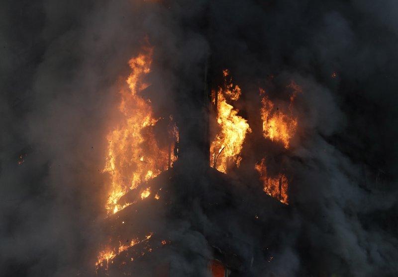 6 killed, dozens injured in massive London high-rise blaze