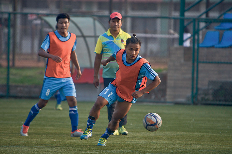 Lopsang and young footballers ready for next test