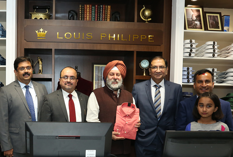 Popular int'l brand Louis Philippe enters Nepal