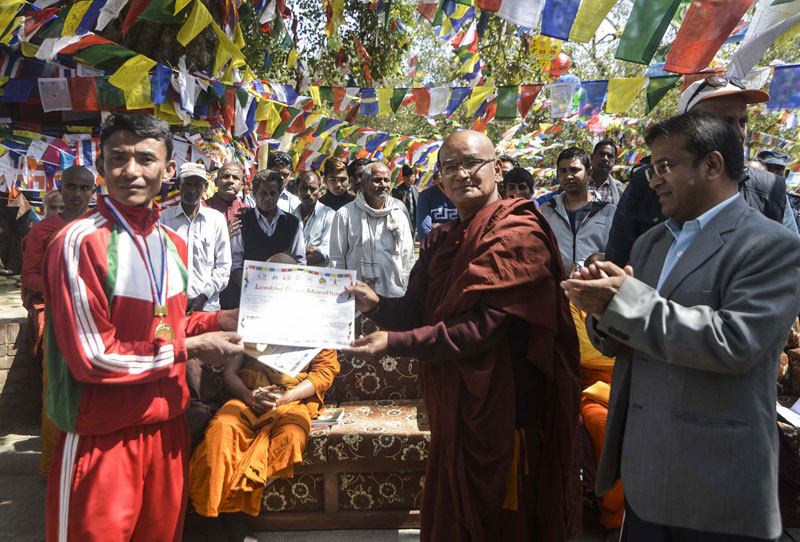 Army's Shrestha wins Lumbini Peace Marathon