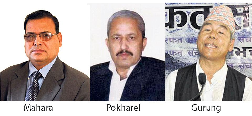 Mahara, Pokharel, Gurung eying speaker post