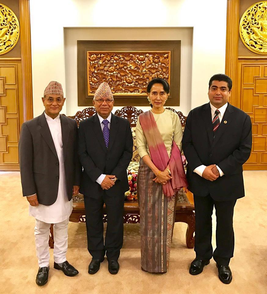 Nepal's peace process exemplary: Democratic Leader Syuu Ki