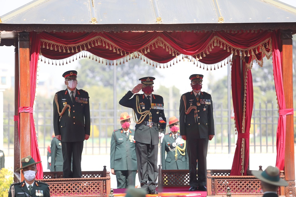 Visiting Indian Army Chief Naravane receives guard of honor at Army headquarters (with photos)