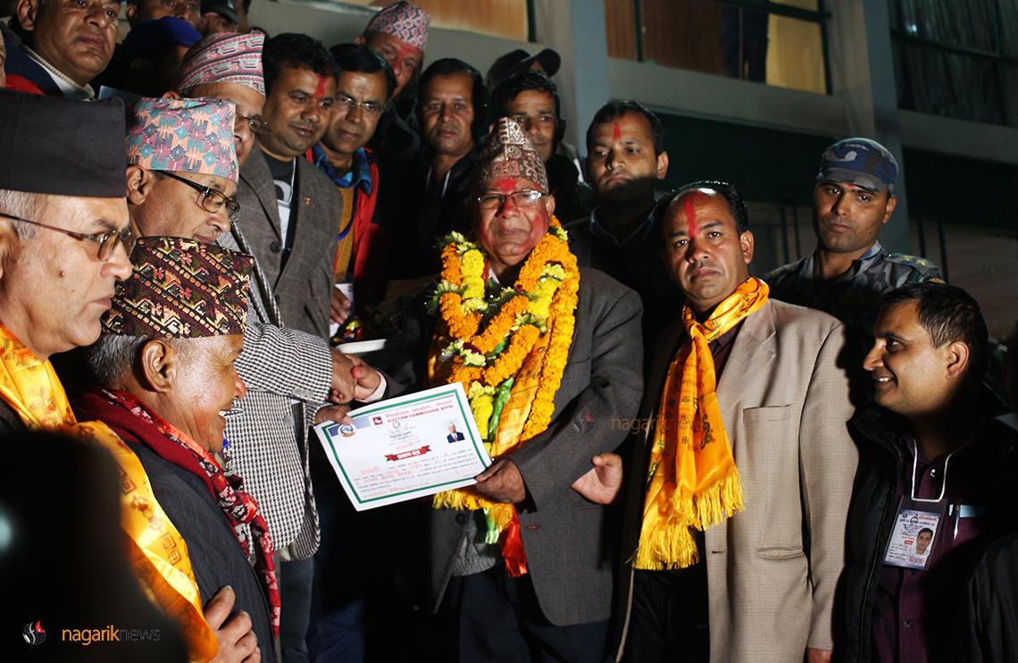 Madhav Nepal wins in Kathmandu-2
