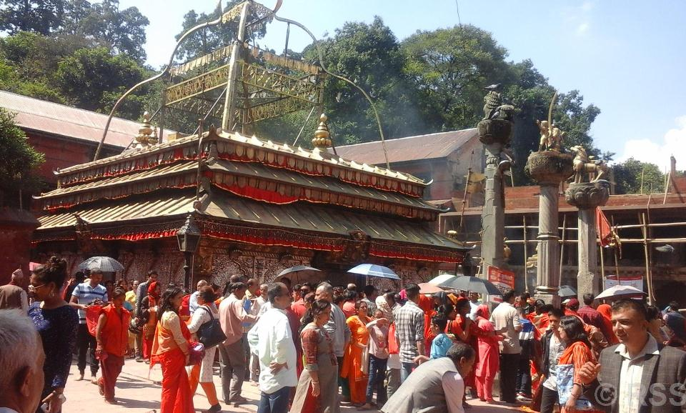 Maha Astami festival being observed today