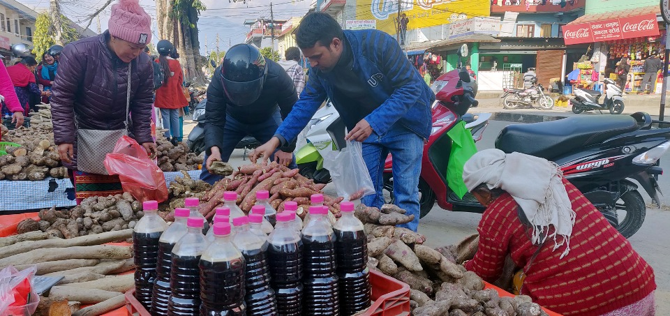 Maghe Sankranti, Maghi being observed today