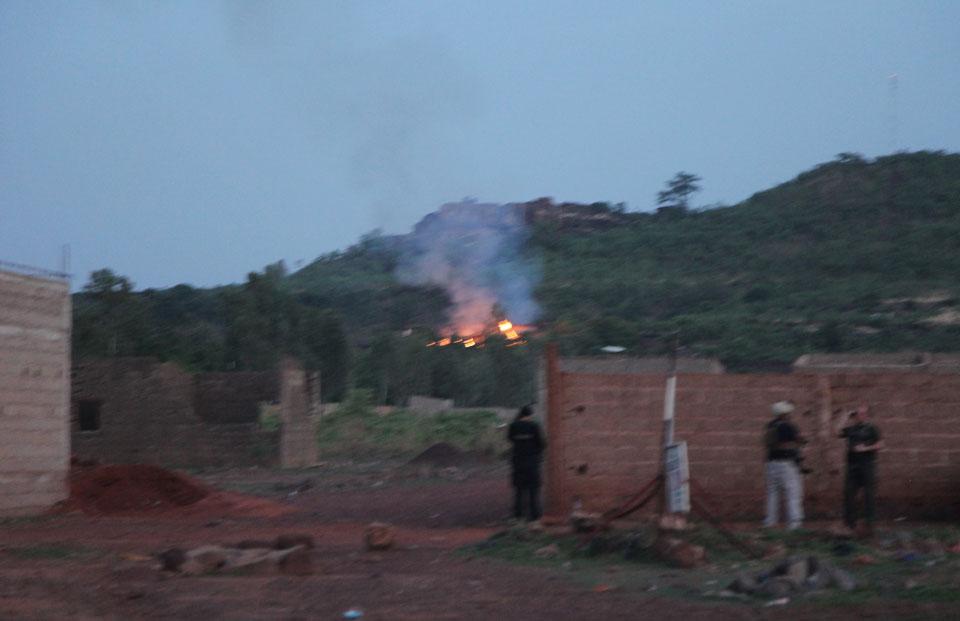 Gunmen attack resort in Mali's capital