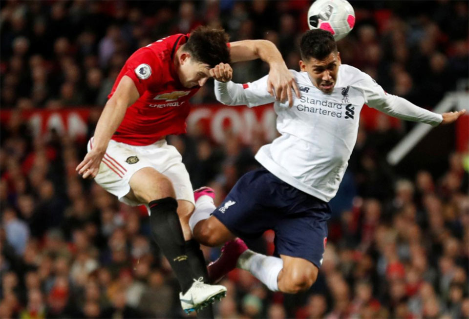 Liverpool winning streak ends with draw at United ...