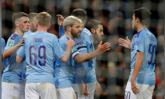 Manchester City stroll to 3-1 League Cup win over Southampton