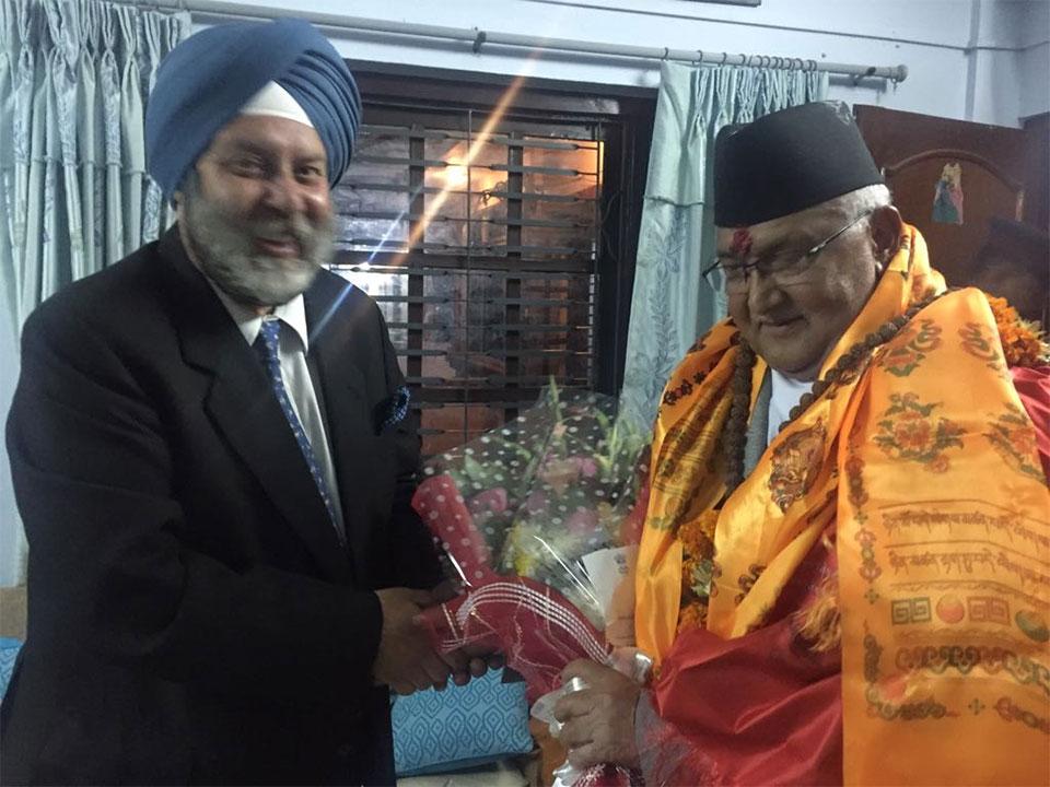 Modi, Swaraj congratulate PM Oli