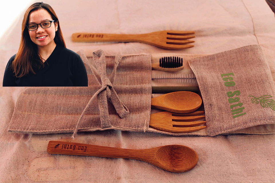 Living and promoting a zero-waste life