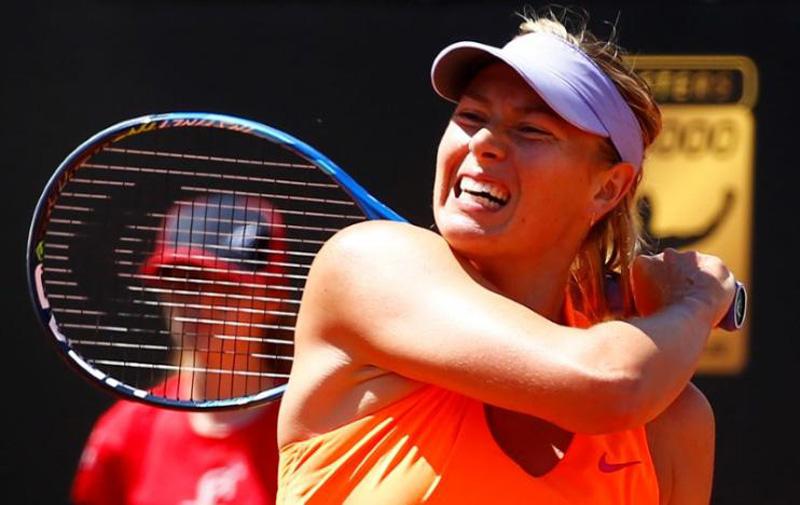 Sharapova denied French Open wildcard