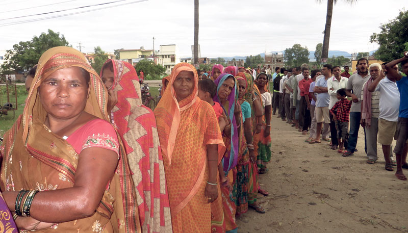Overwhelming voter turnout in Madhes shows their desperation to vote