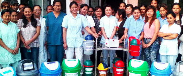 Seven hospitals in Nepal to improve healthcare waste management system