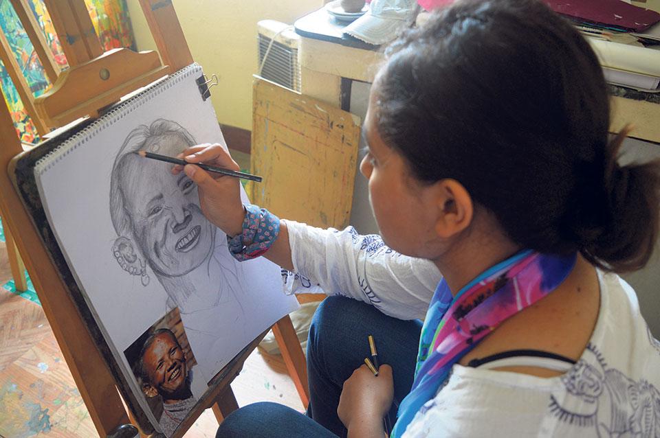 Kathmandu and art:  A sizzling affair