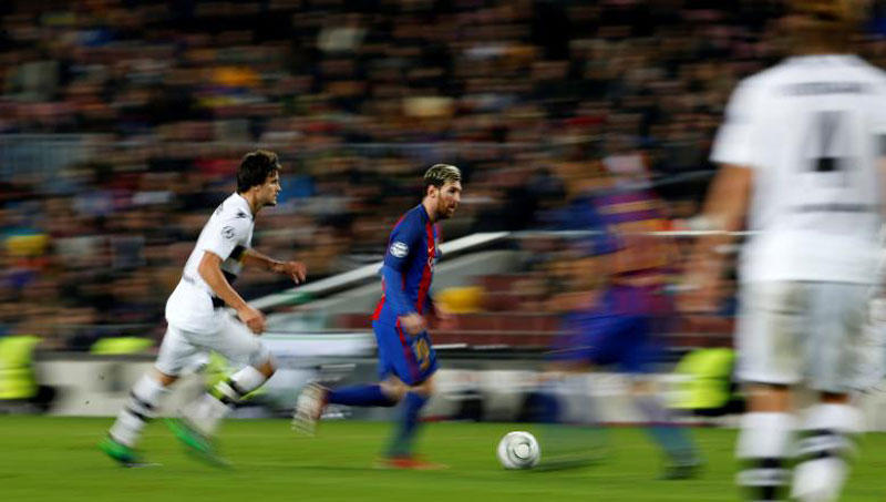 Messi contract talks put Enrique at ease before Osasuna trip