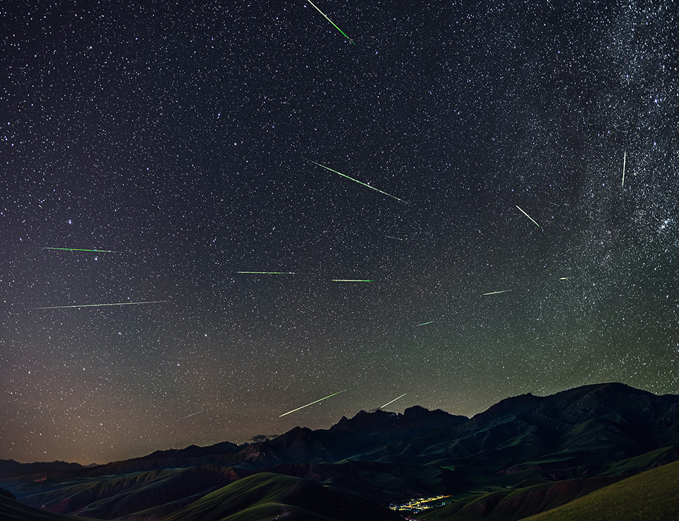 Meteor shower to occur tonight