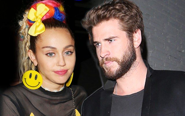 Miley Cyrus secretly married to Liam Hemsworth?